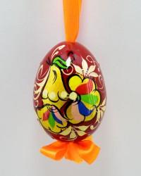 """Яйцо пасхальное деревянное подвесное """"Петушок"""", арт. 0013/1"""
