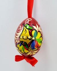 """Яйцо пасхальное деревянное подвесное """"Петушок"""", арт. 0013/2"""