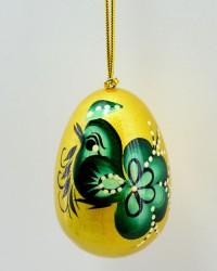 """Яйцо пасхальное деревянное подвесное """"Петушок"""", арт. 0014/3"""