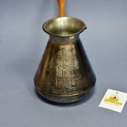 Медная турка ЕГИПЕТ 700мл., арт. 0027