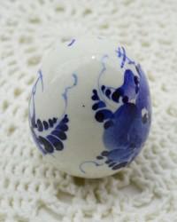 Яйцо пасхальное ХВ, гжель, арт. 0079