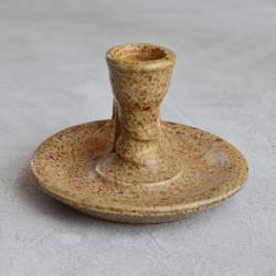 Подсвечник  с ручкой, обливная керамика, арт. 3359