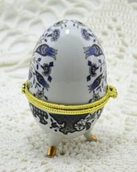 """Шкатулка яйцо под Фаберже """"Сказочный букет"""", арт. 0170"""