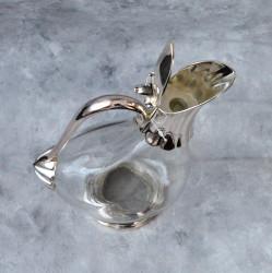 "Графин ""Утка"" 1100мл, цвет серебро, арт. 0646"