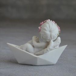"Фигурка ""Ангел в лодке"", арт. 2191"