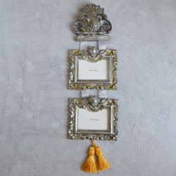 "Фоторамка на 2 фото ""Ангелы"" арт. 1319"