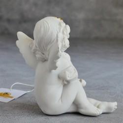 """Фигурка """"Ангел со скрипкой"""" gold, коллекция Amore, арт. 3009"""