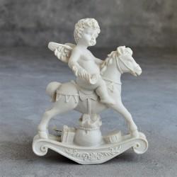 """Фигурка """"Ангел на лошадке"""" коллекция Amore, арт. 2902"""