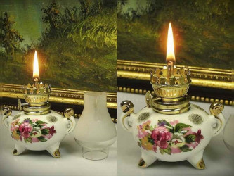 """Лампа масляная """"Цветы"""""""