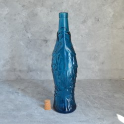 """Бутылка """"Рыба"""" синяя 1000мл. 33см., арт. 0519"""