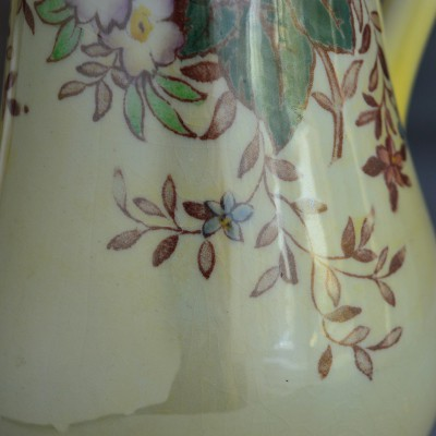 "Кувшин ""Цветы"" перламутр, 27см, арт. 0791"