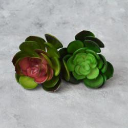 """Цветок искусственный суккулент """"Эхеверия - каменная роза"""" 12,5см, арт. 5663/1"""