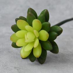 """Цветок искусственный суккулент на ножке """"Ханой"""" h=34см., арт. 4968"""