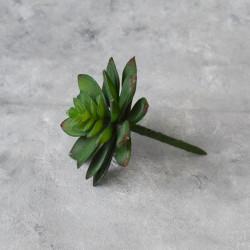 """Цветок искусственный суккулент """"Молодило- каменная роза"""" 11см, арт. 4971/1"""