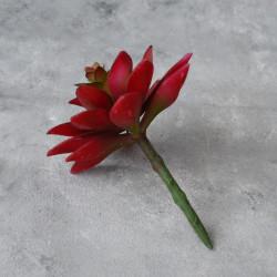 """Цветок искусственный суккулент """"Молодило- каменная роза"""" 11см, арт. 4971/2"""