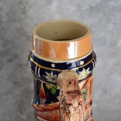 Пивная кружка керамика 38*19*О14см, 2630гр. б/у 6011/к