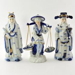 """Статуэтки 3шт. Китайские Боги """"Мудрецы"""", арт. 0705"""