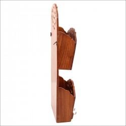 Ключница с кармашками, дерево, арт. 0669