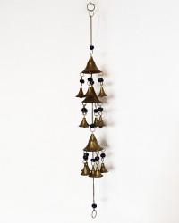 """Подвесной колокольчик """"Музыка ветра"""" 3 купола, арт. 0694"""