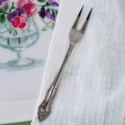 Вилка для холодных закусок, с рис. арт. 1705