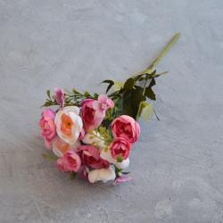 """Цветок искусственный букет """"Камелия"""" 29см, арт. 5659/5"""