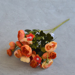 """Цветок искусственный букет """"Камелия"""" 29см, арт. 5659/4"""
