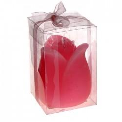 """Свеча """"Бутон"""" ароматизированная, цвет розовый, арт. 0877"""