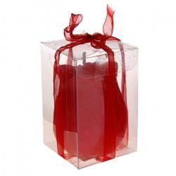 """Свеча """"Бутон"""" ароматизированная, цвет красный, арт. 0877"""
