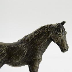 """Статуэтка 2шт. """"Лошадь с жеребенком"""", арт. 0936"""