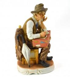 "Статуэтка ""Дедушка с чемоданом"", арт. 1030"