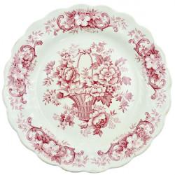 "Тарелка ""Корзина с цветами , арт. 1090"