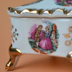 """Шкатулка на ножках ромб """"Meissner"""", арт. 6023/к"""