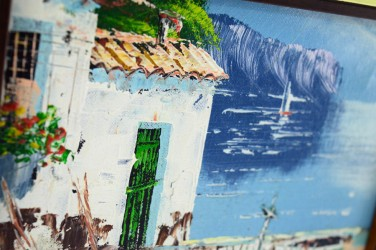 "Картина в раме ""У моря"", арт. 1144"