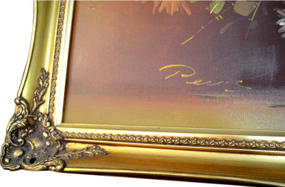 "Картина ""Астры"" 73*104см., арт. 1146"