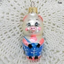 """Елочная игрушка """"Поросенок из м/ф Винни Пух"""", арт. 1444 ID3584"""