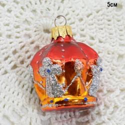 "Елочная игрушка ""Корона"" арт. 5842 ID3595"