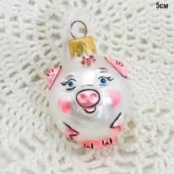 """Елочная игрушка символ года 2019 """"Свинка"""", арт. 5841 ID3603"""