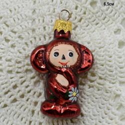 """Елочная игрушка """"Чебурашка"""", арт. 1444 ID3573"""