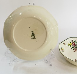 "Тарелка - салатник 2шт. ""OLD LEEDS SPRAYS"", 19см. арт. 1238"