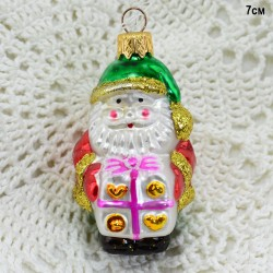 "Елочная игрушка ""Дед мороз с подарком"", арт. 5848 ID3620"
