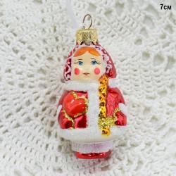 """Елочная игрушка """"Снегурочка"""", арт. 5262 ID364"""