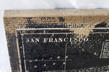 "Картина - панно ретро образ ""San Francisco"" мешковина, арт. 1315/2"