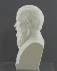 """Бюст """"Достоевский"""" белый, арт. 1346"""