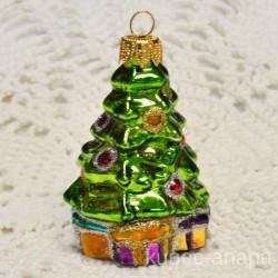 "Елочная игрушка ""Елочка с подарками"" арт. 1438 ID4263"