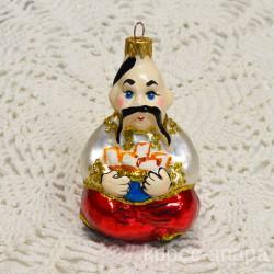 "Елочная игрушка ""Казак с варениками"", арт. 1438 ID3709"