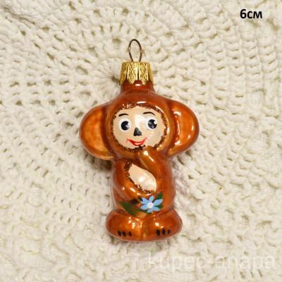 """Елочная игрушка """"Чебурашка"""", арт. 1444. ID1972"""
