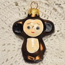 "Елочная игрушка ""Чебурашка"" темный арт. 1444 ID4264"