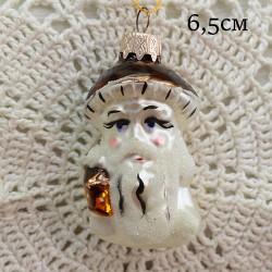 """Елочная игрушка """"Гриб с фонарем"""", арт. 1444/30. ID1999"""