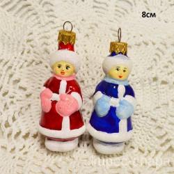 """Елочная игрушка """"Мальчик в шапке"""" синий, арт. 1447 ID4209"""