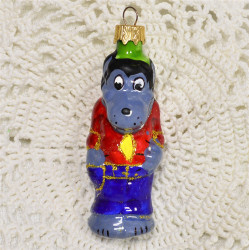 """Елочная игрушка """"Волк Ну Погоди"""" серый 2, арт. 1447 ID4292"""